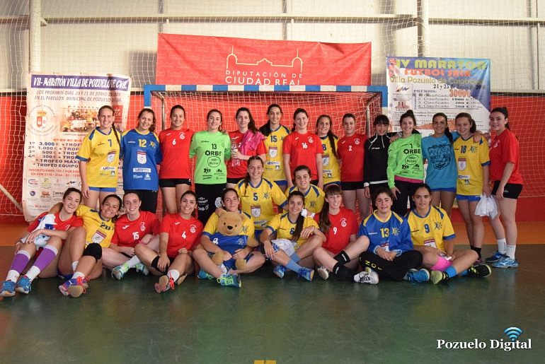 Pozuelo de Calatrava Tierra de Barros cayó ante el Málaga Norte en el partido inaugural del Sector Nacional Juvenil Femenino
