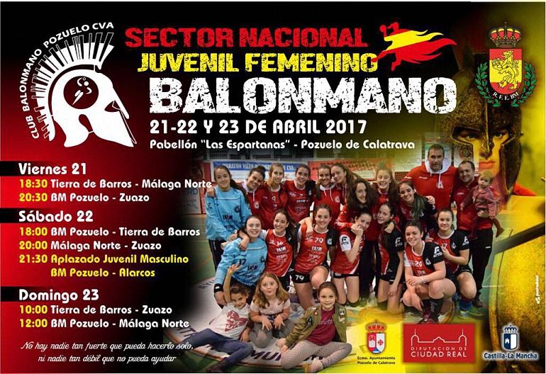 Semana crucial para el BM Pozuelo de Calatrava que se disputa el Intersector que da acceso a la Fase Final del Campeonato de España