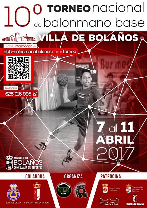 X Torneo Nacional de Balonmano Base Villa de Bolaños