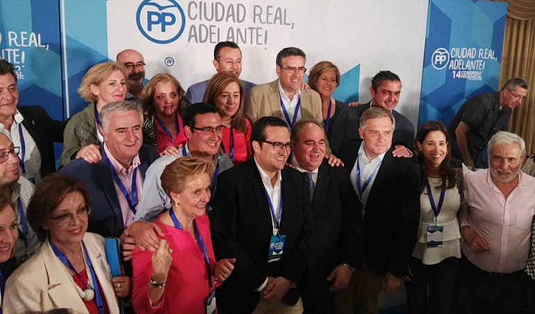Alcaldes y Concejales de la comarca del Campo de Calatrava en la nueva directiva provincial del Partido Popular