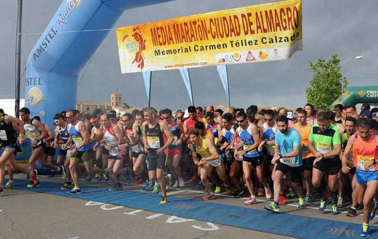 Almagro Gemma Arenas volvió a ganar en casa la sexta prueba del Circuito de Carreras de Ciudad Real