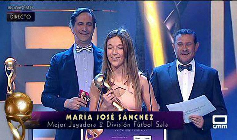 Almagro María José Sánchez Fernández, del Almagro FSF, Balón de CLM 2017