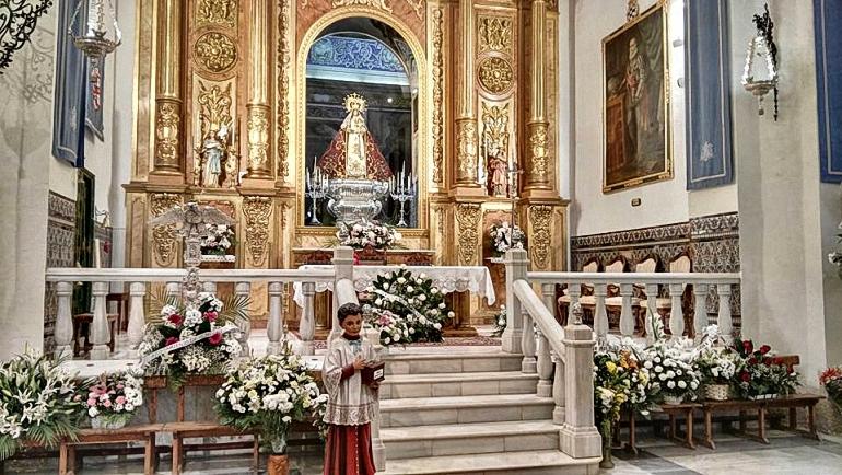 Almagro rindió culto a su patrona la Virgen de las Nieves