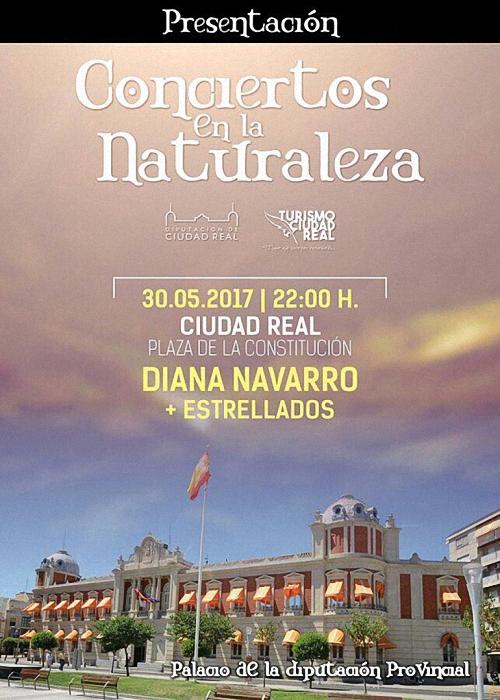 Ciudad Real Diana Navarro abre los Conciertos de la Naturaleza de la Diputación Provincial