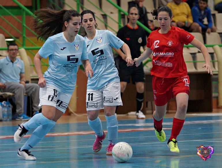 El Almagro FSF remonta ante el Malagón FSF que estuvo arriba en el marcador casi todo el partido