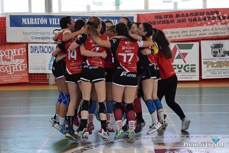 El BM Pozuelo de Calatrava Juvenil Femenino se estrena hoy en la Fase Final del Campeonato de Clubes 2017 frente al Sanse