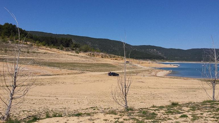La cabecera del río Tajo entra en estado crítico y se queda sin agua que poder trasvasar.