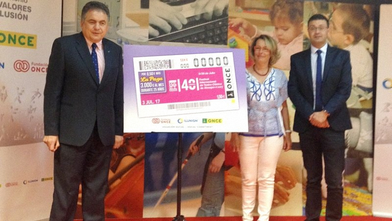 Almagro La ONCE dedica un cupón al Festival Internacional de Teatro Clásico