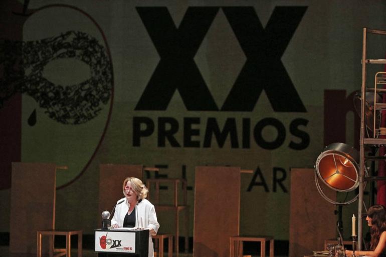 Almagro Natalia Menéndez recogió el Premio Max a la Contribución de las Artes Escénicas 2017