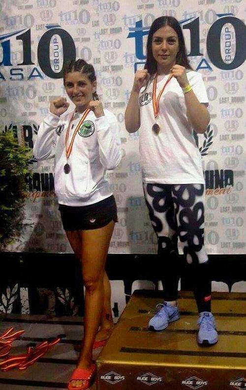 Bolaños Inma Moraga se alza con la medalla de oro en el Campeonato de España de Kick Boxing