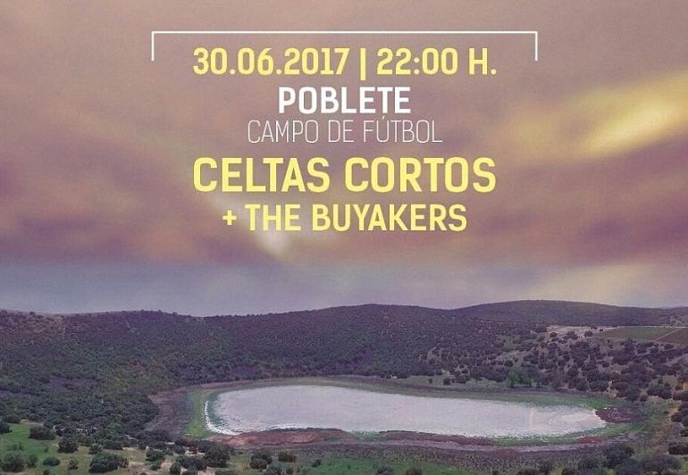 Celtas Cortos actúan este viernes en Poblete