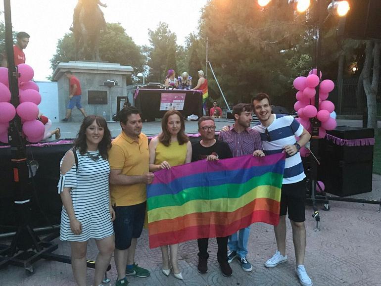 El PSOE de Ciudad Real con la Semana del Orgullo LGTBI