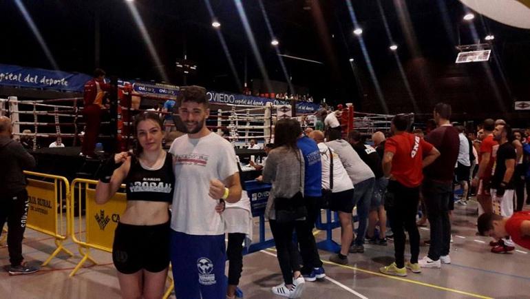 La almagreña Inma Moraga consigue la medalla de oro en en el Campeonato de España de Kick Boxing