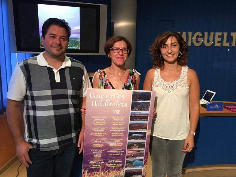Miguelturra Huecco actuará dentro de la programación de los Conciertos en la Naturaleza de la Diputación Provincial