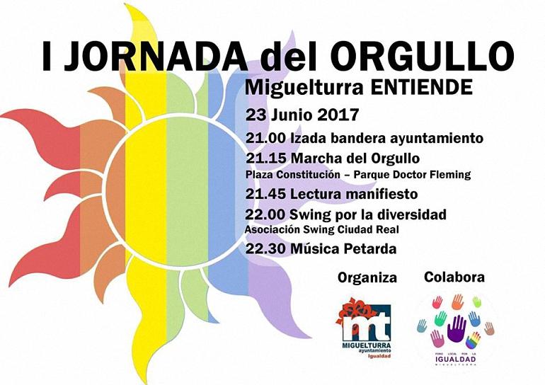 Miguelturra celebra hoy la I Jornada del Orgullo