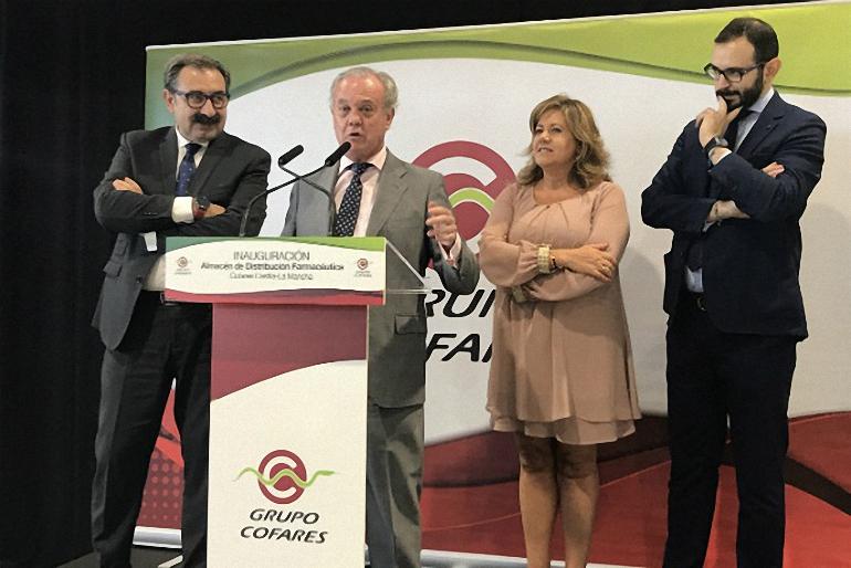 Torralba de Calatrava La Cooperativa Farmacéutica Cofares se instala en el polígono industrial La Vega