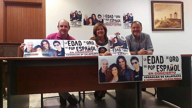 Torralba de Calatrava presenta el concierto de La Edad de Oro del Pop Español