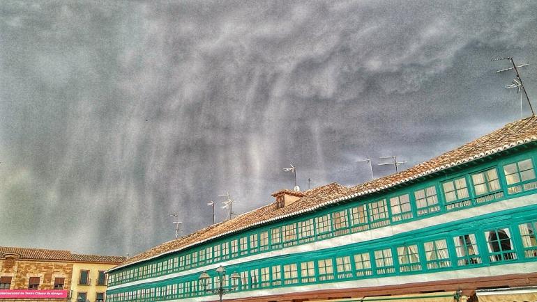 Almagro Una tormenta inunda varias calles de la localidad
