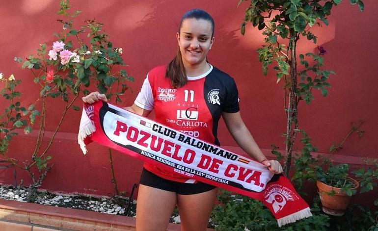 El Soliss BM Pozuelo asegura la portería con Pilar Izquierdo y el ataque decisivo de Noelia Delfa