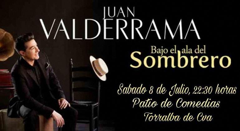 Torralba de Calatrava Juan Valderrama actuará este fin de semana dentro del Ciclo de Música en los Patios