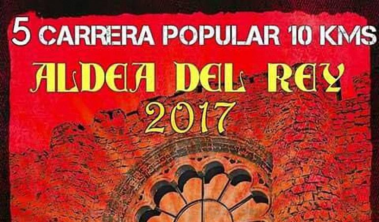 Aldea del Rey Abierto el plazo de inscripción para la V Carrera Popular