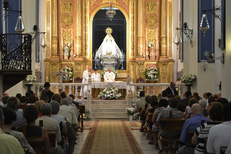 Almagro celebró la festividad en honor a su patrona la Virgen de las Nieves