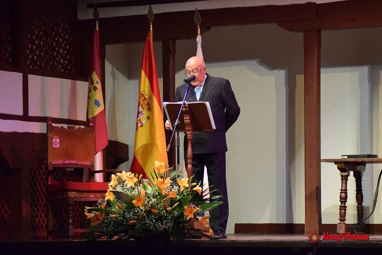 Almagro inauguró las Feria y Fiestas 2017 con el pregón de Antonio Dotor Céspedes