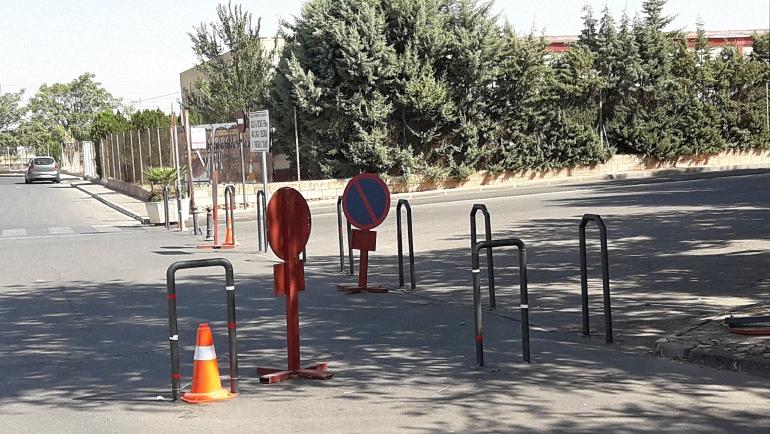 Almagro refuerza la seguridad del recinto ferial con medidas antiatropello