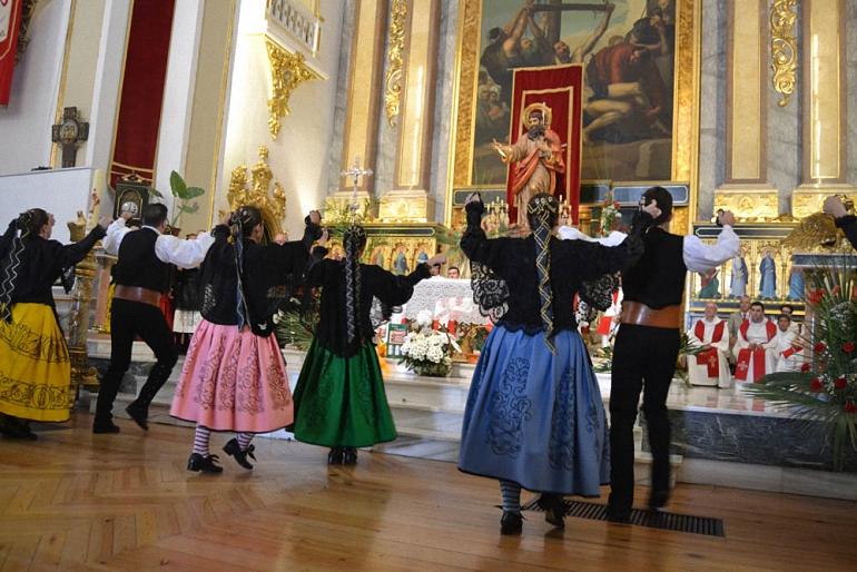 Almagro rinde homenaje a su Patrón, San Bartolomé Apóstol
