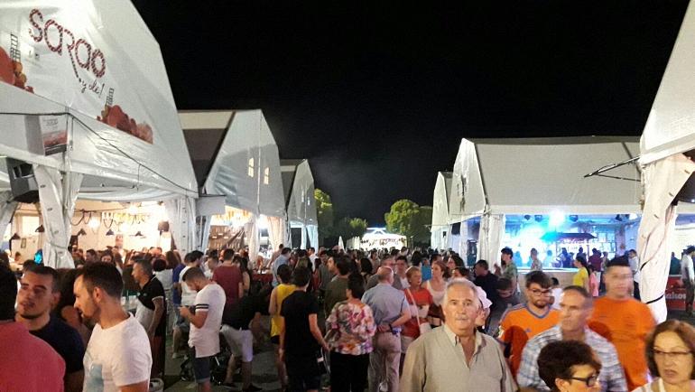 Chozos de la Feria y Fiestas 2017 de Almagro