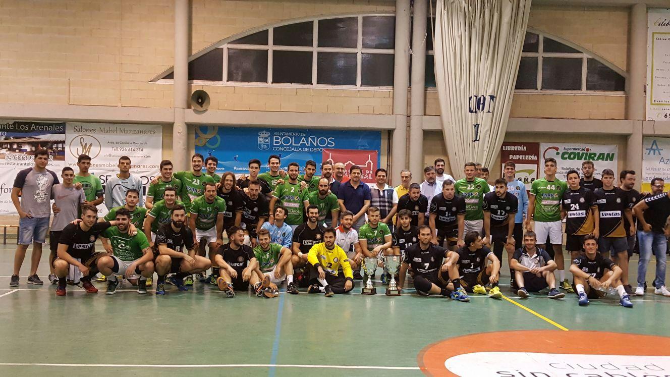El BM Bolaños pierde la final del Trofeo Diputación frente al Vestas BM Alarcos