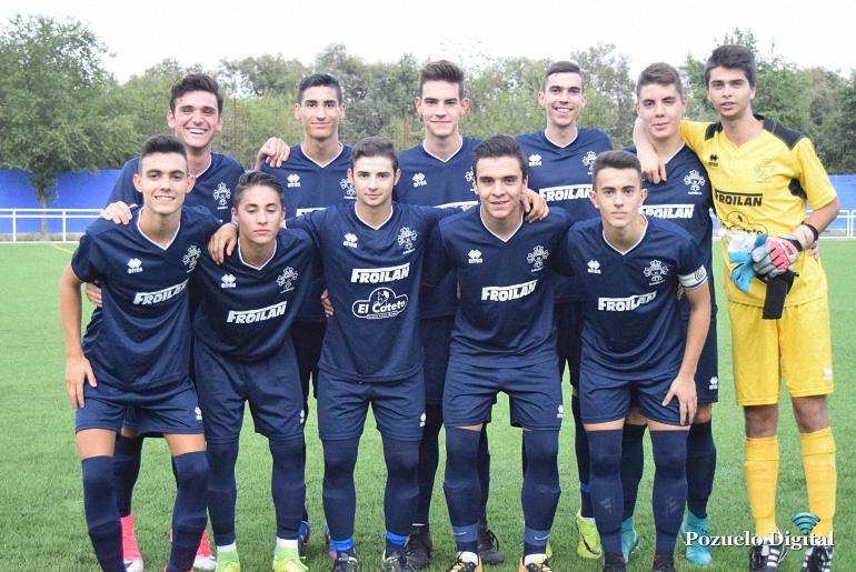 El Pozuelo CF no pudo con el juvenil del Almagro en su primer partido amistoso de pretemporada