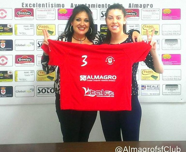 María Téllez Guzman regresa al Almagro FSF