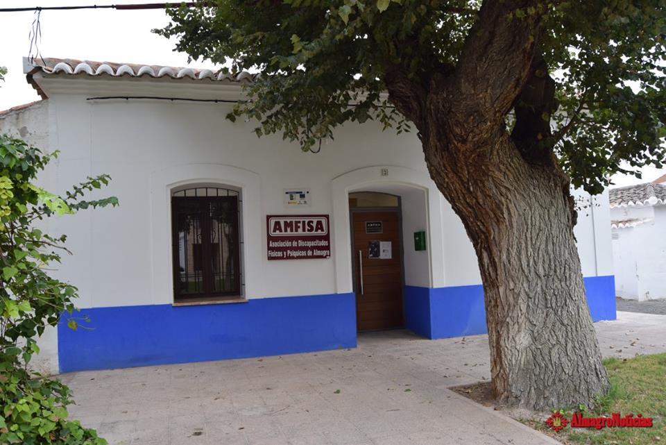 Sede de AMFISA en el Paseo de la Estación de Almagro