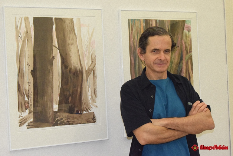 Almagro Alvar Haro y su exposición Geografía Habitada en la Galería Fúcares hasta el 14 de octubre