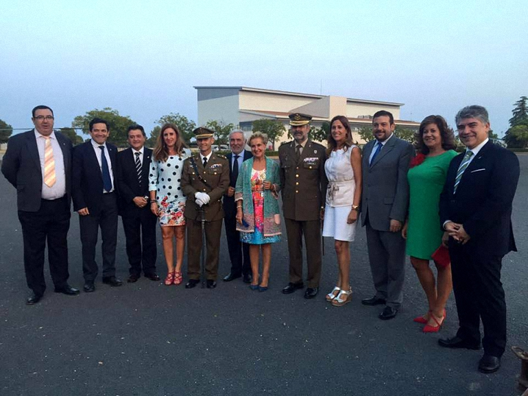 Almagro José Manuel Galvañ nuevo jefe del nuevo jefe del Batallón de Helicópteros de Ataque I