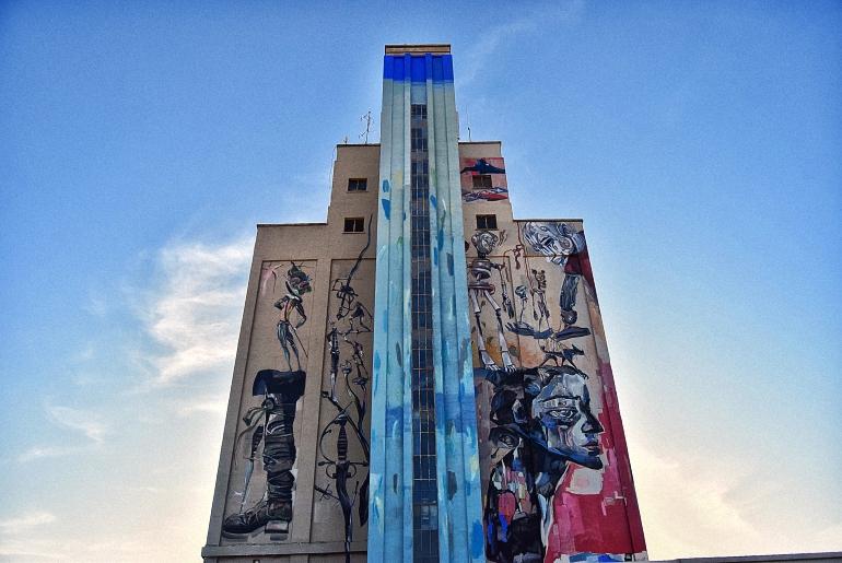 Almagro Todo listo para el estreno del Antiguo Silo de Cereales como nuevo edificio de Servicios Múltiples
