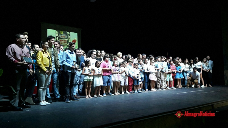 Almagro celebró anoche la XVIII Gala del Deporte donde una vez más Gema Arenas consiguió el Premio Manuel Sanroma al mejor deportista del año