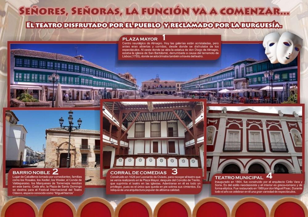 Almagro celebra el Día Mundial del Turísmo con entrada gratuita en todos sus espacios