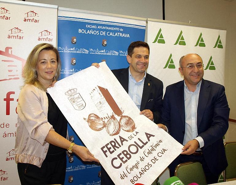 Bolaños celebra este fin de semana la I Edición de la Feria de la Cebolla