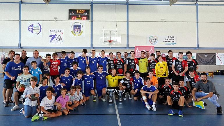 Los juveniles del Soliss BM Pozuelo pierden in extremis el Trofeo Diputación