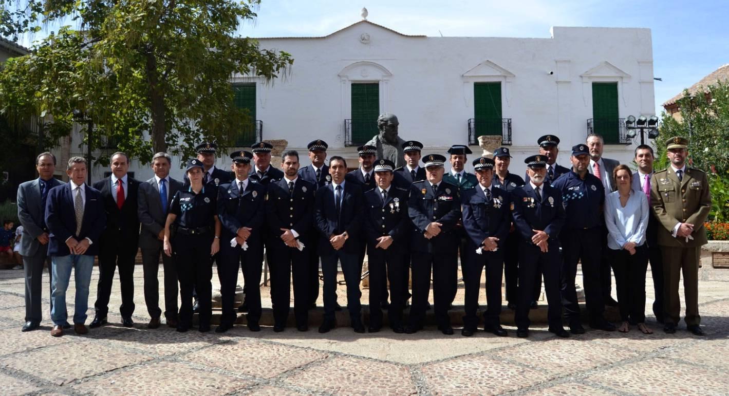 Almagro La Policía Local celebró la festividad de los Ángeles Custodios