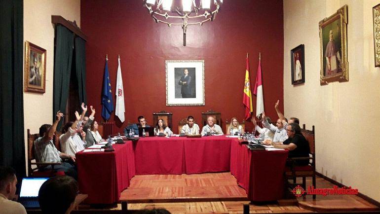 Almagro Se aprueba en el Pleno la moción a favor de la Unidad de España con la abstención del PSOE y Almagro Si Puede