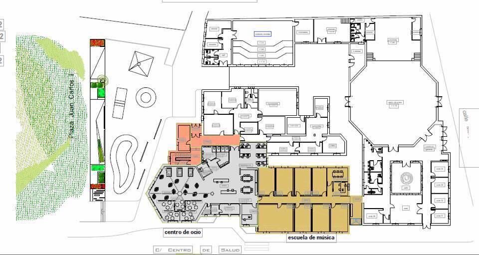 Bolaños El nuevo Centro de Ocio Juvenil estará ubicado en el antiguo Centro de Salud