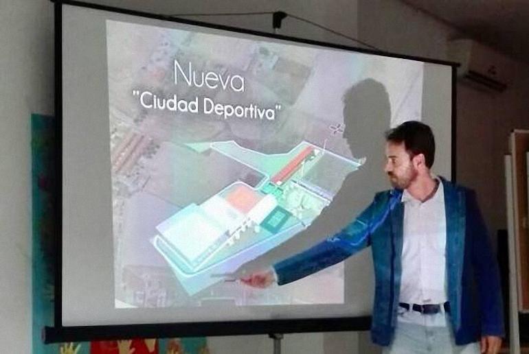 Bolaños proyecta una moderna Ciudad Deportiva