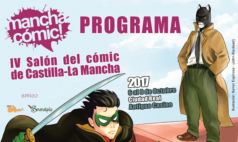 Ciudad Real Hoy arranca la IV Edición de Manchacómic!