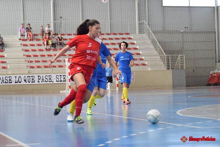 Con nombre propio María Téllez Gúzman, pivot del Almagro FSF