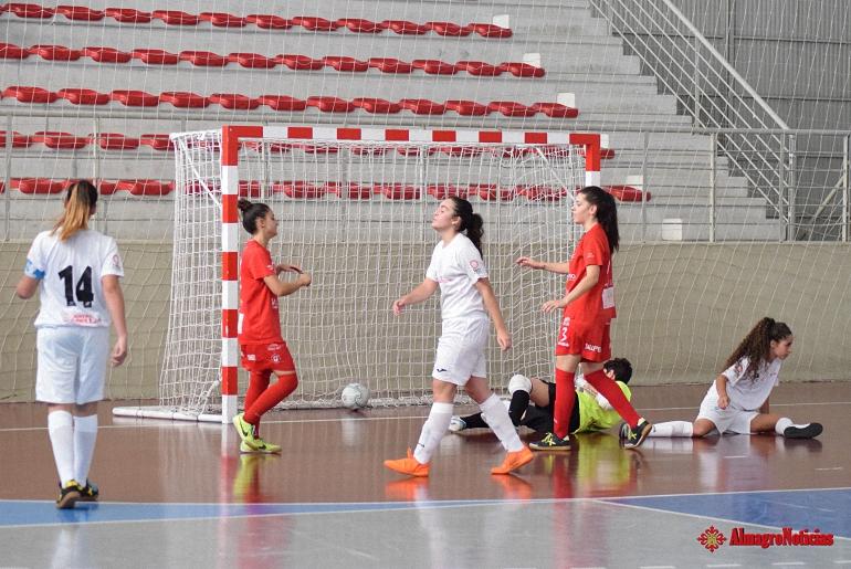 El Almagro FSF vapulea a un flojo Quijote Futsal que se lleva la tercera goleada de esta liga