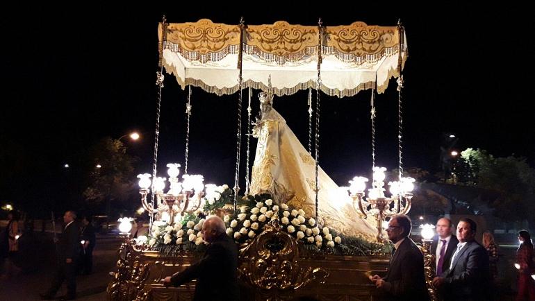 La Virgen de las Nieves vuelve a Almagro para la época invernal
