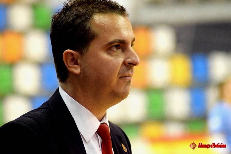 Ramon J Lozano, entrenador del Almagro FSF1